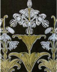 Морис Пийар Верней. Иллюстрация из книги «Декоративные цветы»