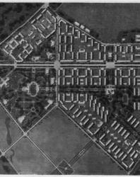 Проект планировки и застройки района Дачное. Вариант