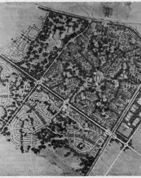 Экспериментальный проект планировки и застройки жилого района Сосновая Поляна
