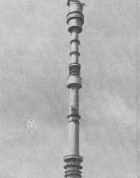 Рис. 1. Останкинская телевизионная башня высотой 533,3 м.
