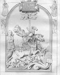 Иллюстрации из книги Ивана Снегирёва «Памятники московской древности». 1842-1845