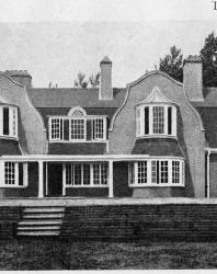 Каменный доходный дом. Иллюстрация из книги Стори В.Г. «Дачная архитектура за границей». 1913