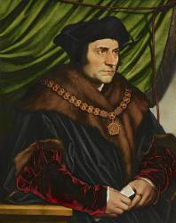 Томас Мор. Портрет, написанный Гансом Гольбейном в 1527 году