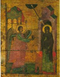 Благовещение. Праздничный ряд. Софийский собор в Новгороде