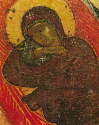 Рождество. Деталь. Праздничный ряд. Софийский собор в Новгороде