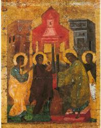 Сретение. Праздничный ряд. Софийский собор в Новгороде