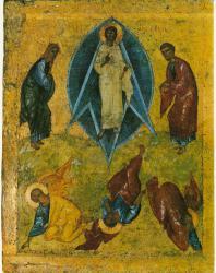 Преображение. Праздничный ряд. Софийский собор в Новгороде
