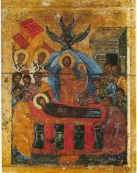 Успение. Праздничный ряд. Софийский собор в Новгороде
