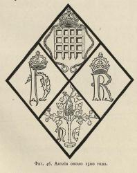 Каталог предметов стеклянного производства и живописи на стекле. Музей Центрального Училища технического рисования барона Штиглица. 1893. Англия около 1500 года