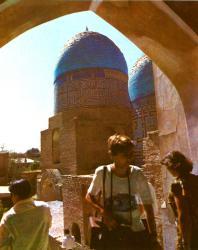 Шахи-Зинда. Мавзолей Ульджааим