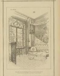 Art nouveau decoration & ameublement. Ch. Schmid, Paris. 1898