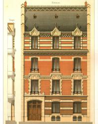 Victorian Brick and Terra-Cotta Architecture / Викторианская кирпичная и терракотовая архитектура / La brique et la terre cuite. Pierre Chabat. 1989