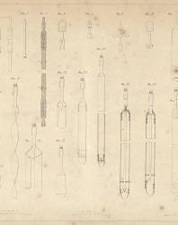 Основания и фундаменты. Чертежи. Карлович В.М. 1869. Лист 1