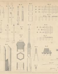 Основания и фундаменты. Чертежи. Карлович В.М. 1869. Лист 2