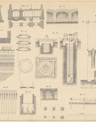 Основания и фундаменты. Чертежи. Карлович В.М. 1869. Лист 4