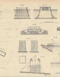Основания и фундаменты. Чертежи. Карлович В.М. 1869. Лист 5