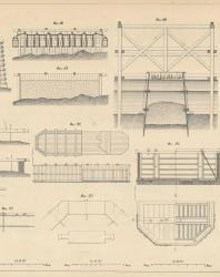 Основания и фундаменты. Чертежи. Карлович В.М. 1869. Лист 6