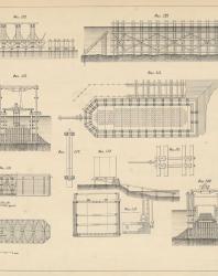 Основания и фундаменты. Чертежи. Карлович В.М. 1869. Лист 7