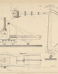 Основания и фундаменты. Чертежи. Карлович В.М. 1869. Лист 12