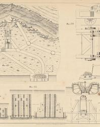 Основания и фундаменты. Чертежи. Карлович В.М. 1869. Лист 13