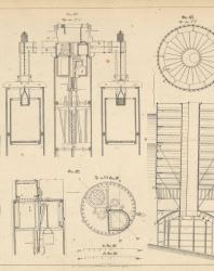 Основания и фундаменты. Чертежи. Карлович В.М. 1869. Лист 14