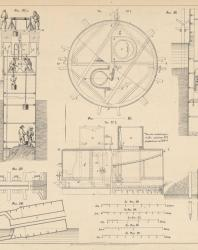 Основания и фундаменты. Чертежи. Карлович В.М. 1869. Лист 15