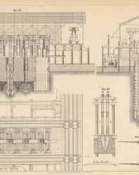 Основания и фундаменты. Чертежи. Карлович В.М. 1869. Лист 16