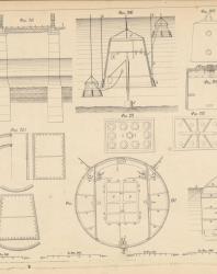 Основания и фундаменты. Чертежи. Карлович В.М. 1869. Лист 17