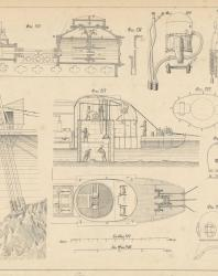 Основания и фундаменты. Чертежи. Карлович В.М. 1869. Лист 18