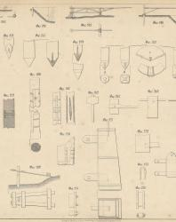 Основания и фундаменты. Чертежи. Карлович В.М. 1869. Лист 19 а