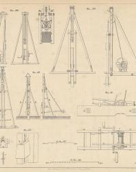 Основания и фундаменты. Чертежи. Карлович В.М. 1869. Лист 21