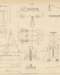 Основания и фундаменты. Чертежи. Карлович В.М. 1869. Лист 26