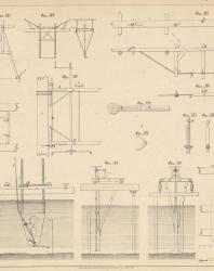 Основания и фундаменты. Чертежи. Карлович В.М. 1869. Лист 27
