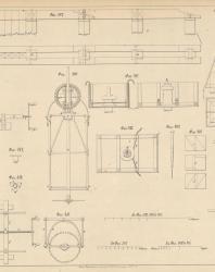 Основания и фундаменты. Чертежи. Карлович В.М. 1869. Лист 28