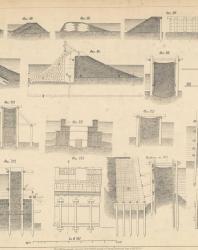 Основания и фундаменты. Чертежи. Карлович В.М. 1869. Лист 29