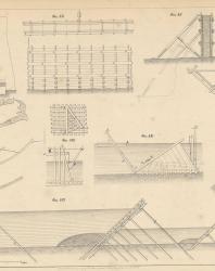 Основания и фундаменты. Чертежи. Карлович В.М. 1869. Лист 30