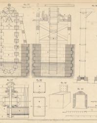 Основания и фундаменты. Чертежи. Карлович В.М. 1869. Лист 32
