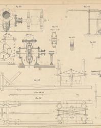 Основания и фундаменты. Чертежи. Карлович В.М. 1869. Лист 34