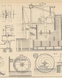 Основания и фундаменты. Чертежи. Карлович В.М. 1869. Лист 35