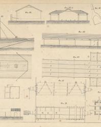 Основания и фундаменты. Чертежи. Карлович В.М. 1869. Лист 37