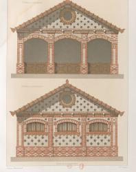 La brique et la terre cuite (Кирпич и керамическая плитка). Pierre Chabat. 1881
