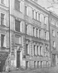Псков. Улица Ленина, дом № 3. В этом доме с марта по июнь 1900 года жил В.И. Ленин