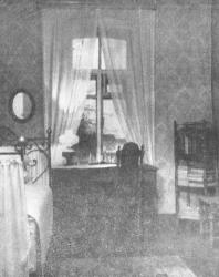 Псков. Улица Ленина, дом № 3. В этой комнате с 7 марта по 18 мая ст. ст. 1900 года жил В.И. Ленин