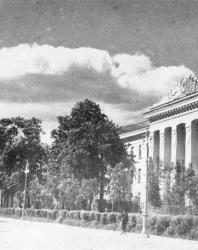 Псков. Пролетарский бульвар