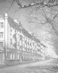 Псков. Улица Ленина. Новостройки