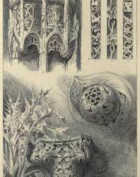 The Seven Lamps of Architecture. John Ruskin. 1889: I. Ornaments from Rouen, St. Lo, and Venice