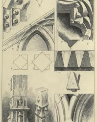 The Seven Lamps of Architecture. John Ruskin. 1889: IV. Intersectional Mouldings