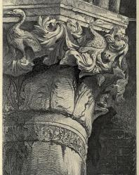 The Seven Lamps of Architecture. John Ruskin. 1889: V. Capital from the Lower Arcade of the Doge's Palace, Venice