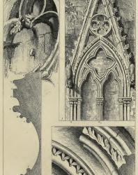 The Seven Lamps of Architecture. John Ruskin. 1889: X. Traceries and Mouldings from Rouen and Salisbury