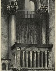 The Seven Lamps of Architecture. John Ruskin. 1889: XI. Balcony in the Campo St. Benedetto, Venice